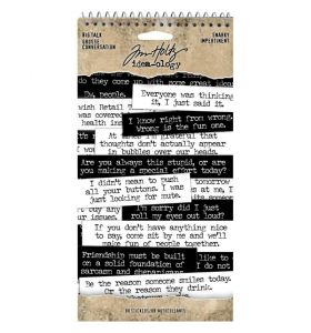 Tim Holtz Big talk snarky