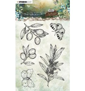 Clear stamps A6 JMA New awakening - Olive branches nr. 19