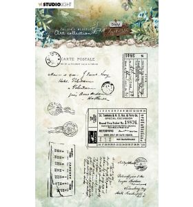 Clear stamps A6 JMA New awakening - Postcards & tickets nr. 20