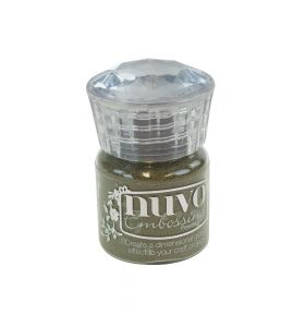 Nuvo embossing powder 600N classic gold 22 ml