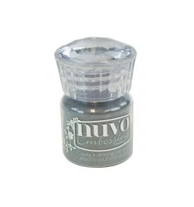 Nuvo embossing powder 601N classic silver 22 ml