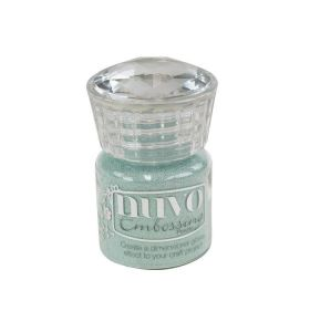 Nuvo embossing powder 606N serenity blue 22 ml