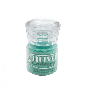 Nuvo embossing powder 616N turquoise lagoon 22 ml