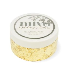 Nuvo Gilding flakes 850n radiant gold
