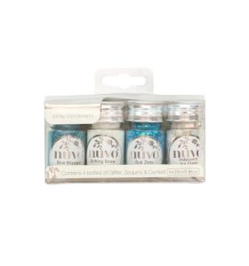 Nuvo pure sheen collection 308n white wonderland 4 x 25 ml