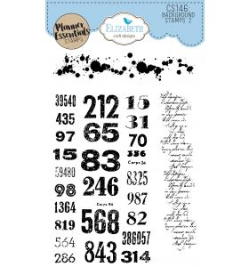ECD Clear stamps - Background stamps 2