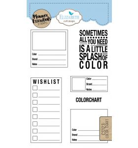 ECD Clear stamps - Color chart