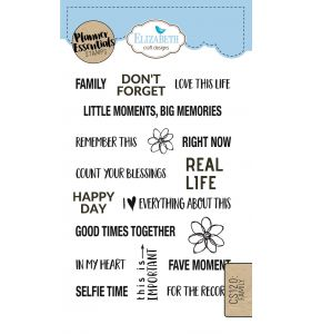 ECD Clear stamps - Family