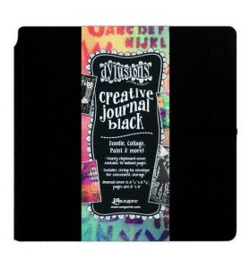 Dylusions creative journal black - square