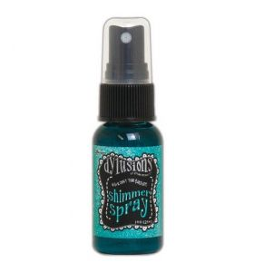 Dylusions Shimmer Spray - Vibrant turquoise