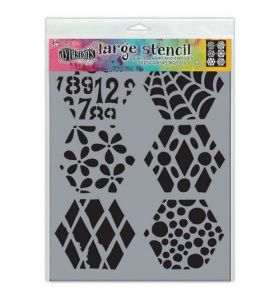 Dylusions stencil large - Quilt n more
