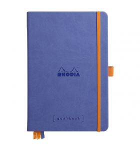 Rhodia goalbook hardcover A5 dotted wit papier - sapphire