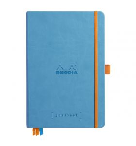 Rhodia goalbook hardcover A5 dotted wit papier - turquoise