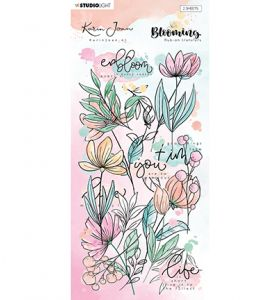 Rub on stickers - Karin Joan Blooming collection nr.02