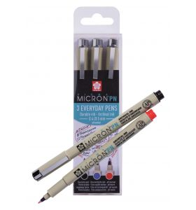 Sakura Pigma Micron PN set office 3 stuks