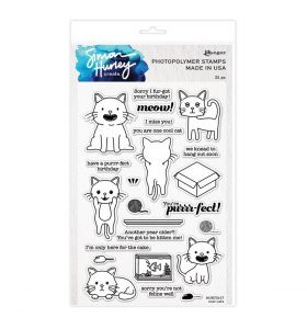 Simon Hurley clear stamps A5 - Cool cats