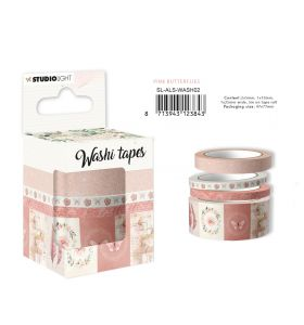 Washi tape Pink butterflies - Another love story nr. 2