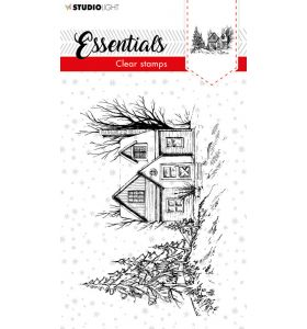 Clear stamp Christmas essentials 2 - scenery nr. 90
