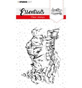 Clear stamp Christmas essentials 2 - scenery nr. 91