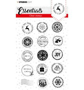 Clear stamps A6 Christmas essentials 3 - Post stamps nr. 92