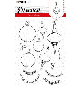 Clear stamps A6 Christmas essentials 2 - Christmas baubles nr. 95