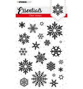 Clear stamps A6 Christmas essentials 3 - Snowflakes background nr. 96