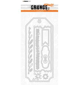 Cutting Die Cardshapes 2 sizes - Grunge Collection 7.0 nr. 88