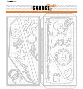 Cutting Die Envelop and cardshape - Grunge Collection 7.0 nr. 89