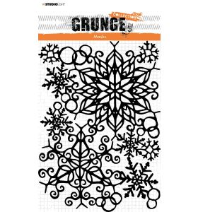 Mask stencil Snowflakes - Grunge Collection 7.0 nr. 52