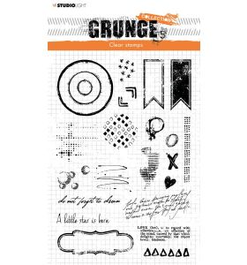 Clear stamp Everyday extras - Grunge collection 7.0 nr. 105