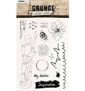 Clear stamps A5 Grunge collection 5.0 nr. 503