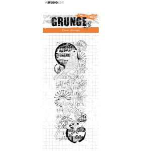 Clear stamp Birds - Grunge collection 6.0 nr. 37