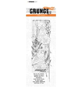 Clear stamp Butterflies - Grunge collection 6.0 nr. 40