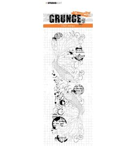 Clear stamp Fish - Grunge collection 6.0 nr. 41