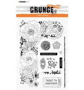 Clear stamp A5 Elements - Grunge collection 6.0 nr. 42