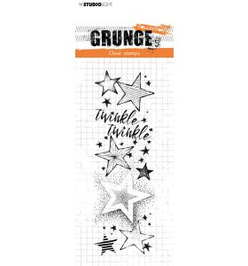 Clear stamp Twinkle twinkle stars - Grunge collection 7.0 nr. 98