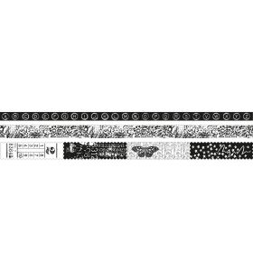 Washi tape Texts - Artist's Atelier nr. 04