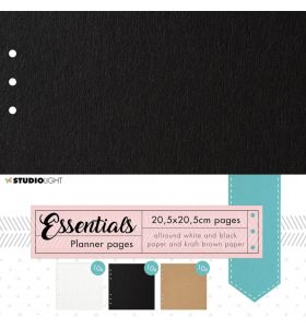 Planner pages A5 - Planner essentials 30 vel nr. 01