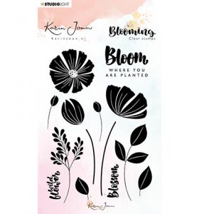 Clear stamp A6 - Karin Joan Blooming collection nr.01