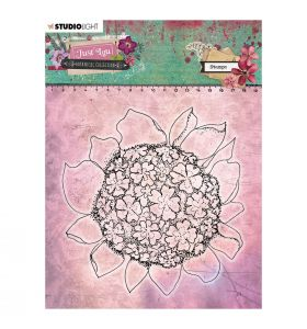 Clear stamp - Just Lou botanical collection nr. 06