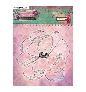 Clear stamp - Just Lou botanical collection nr. 07