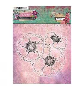 Clear stamp - Just Lou botanical collection nr. 08