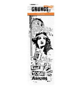 Clear stamp Grunge collection 2.0 nr. 357