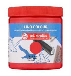 Art creation linoverf rood 250 ml