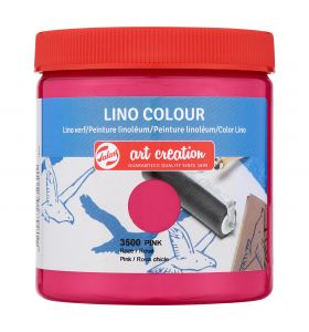 Art creation linoverf roze 250 ml
