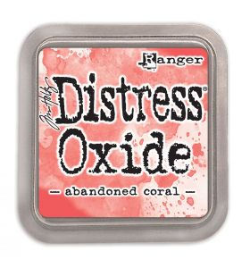 Distress Oxide inkt abandoned coral