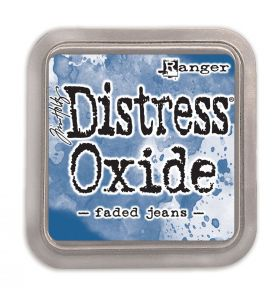 Distress Oxide inkt faded jeans