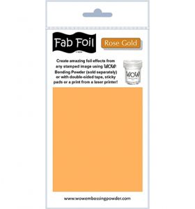 WOW! Fab Foil - Rose gold