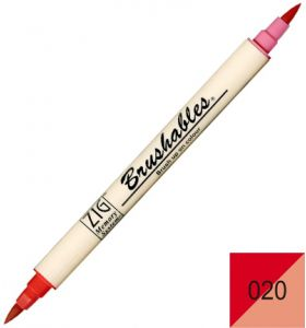 Zig Brushables 020 pure red