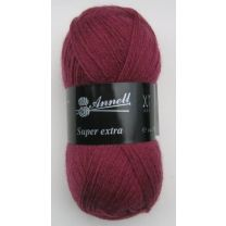Annell Super Extra Uni 2009 donkerroze